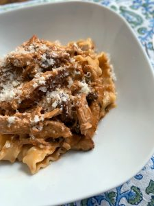 Pheasant & chestnut ragù with pappardelle