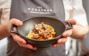 Hare ragù with pappardelle and aged parmesan